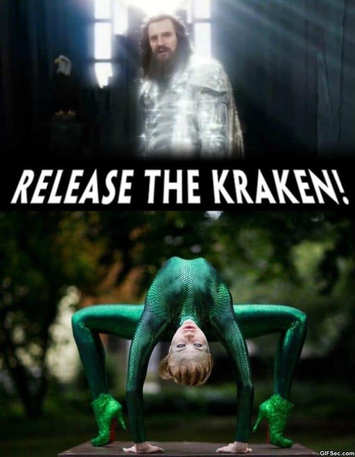 Funny Release the Kraken