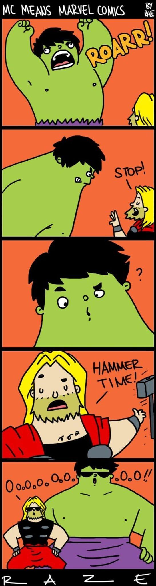 Funny Memes Marvel C