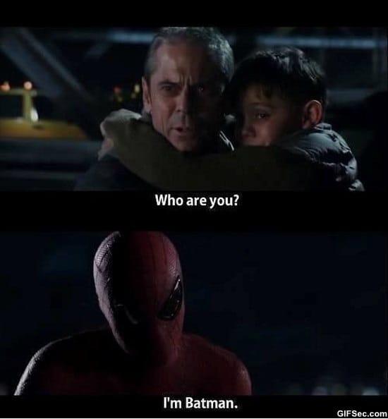 lol-pics-spiderman-vs-batman