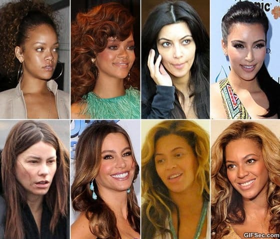 celebrities-with-and-without-makeup