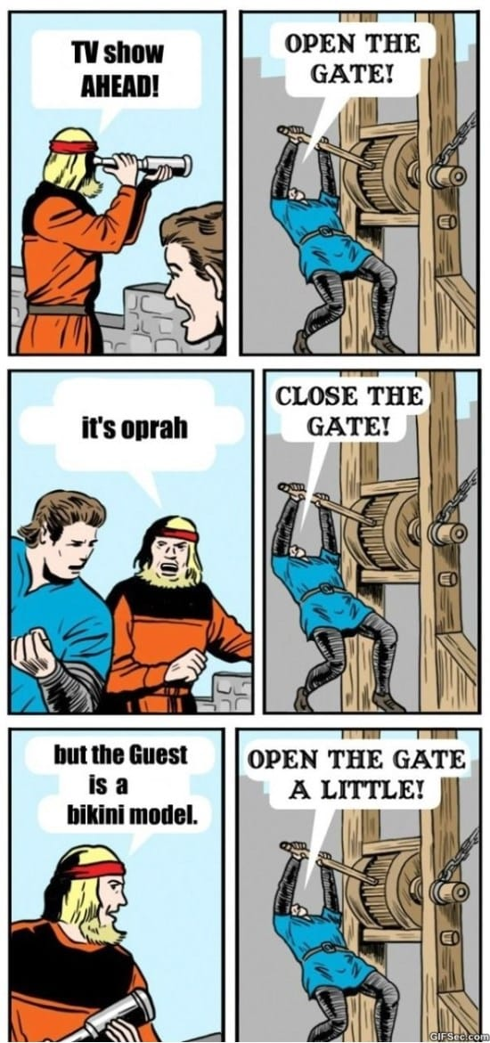 open-the-gate