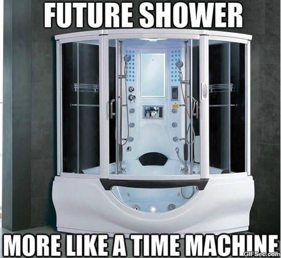 future-shower