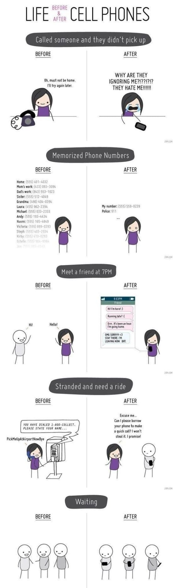 life-before-and-after-cell-phones-and