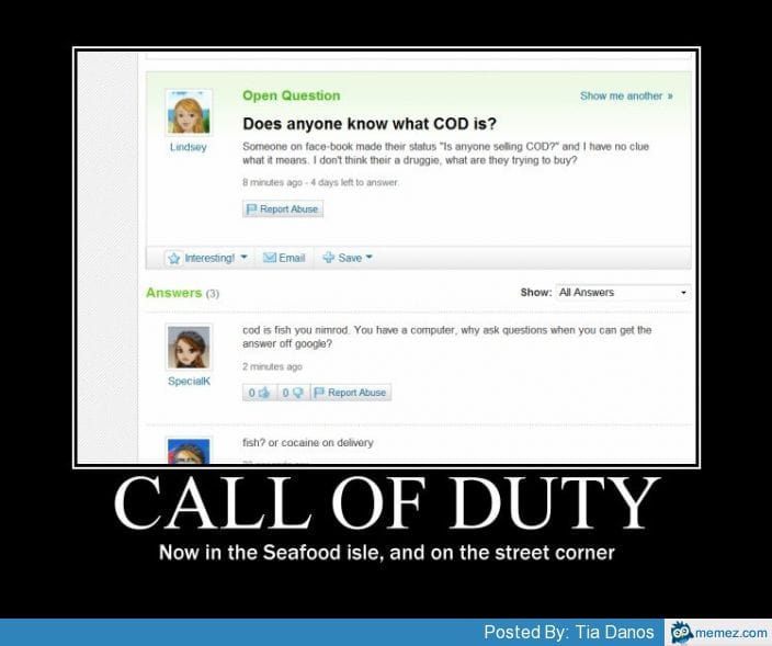 what-is-this-cod