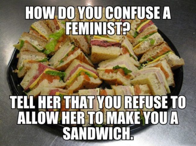 how-do-you-confuse-a-feminist