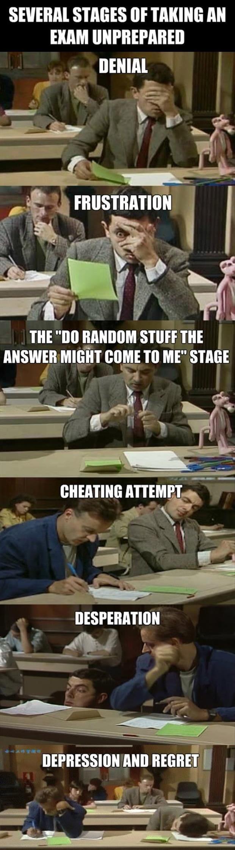 taking-an-exam-unprepared