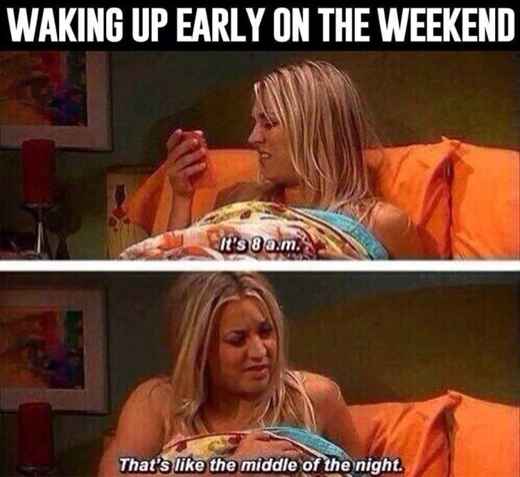 waking-up-on-weekends