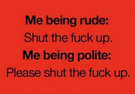 me-being-polite