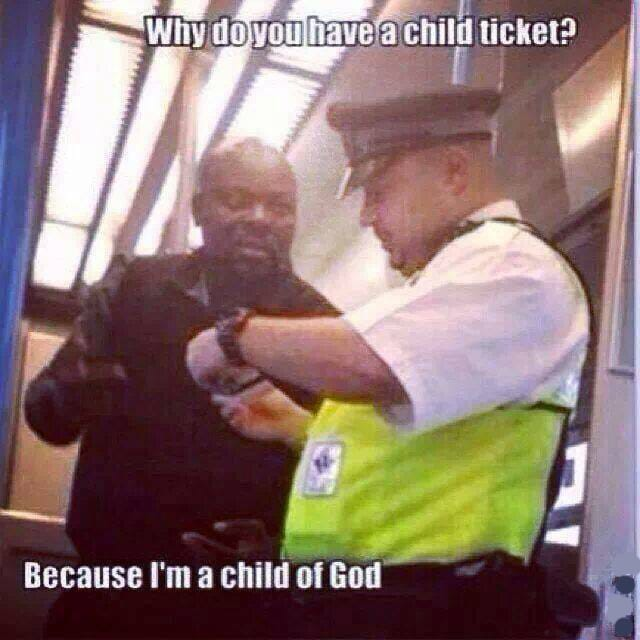 why-do-you-have-a-child-ticket