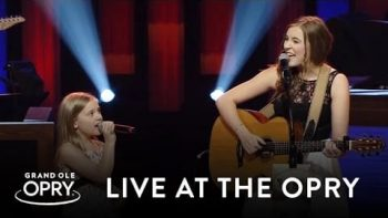 Lennon And Maisy Stella Perform 'Ho Hey' At Grand Ole Opry