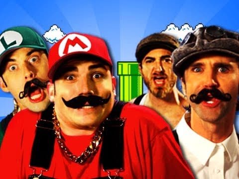 Video - Mario Bros vs Wright Bros Epic Rap Battles of