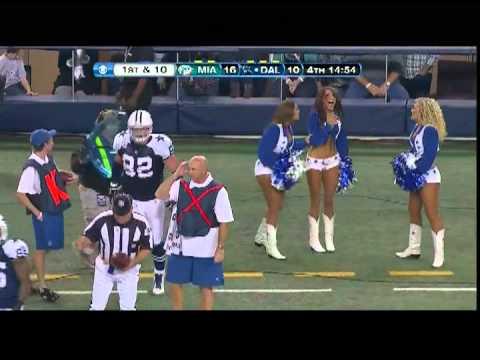 Dallas Cowboy Tackles Cheerleader Viral Viral Videos