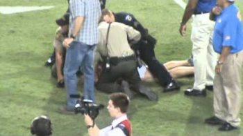 Streaker At UCLA VS Arizona Football Game