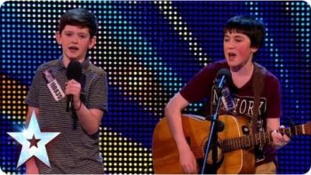 Jack And Cormac Perform 'Little Talks' On Britain's Got Talent
