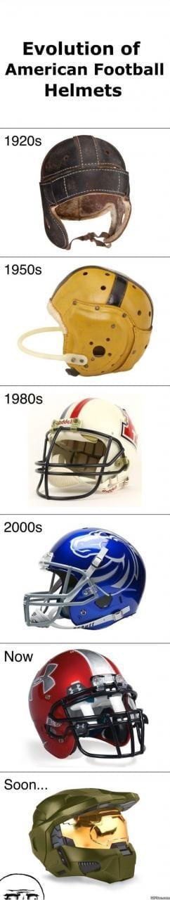 evolution-of-football-helmets-meme