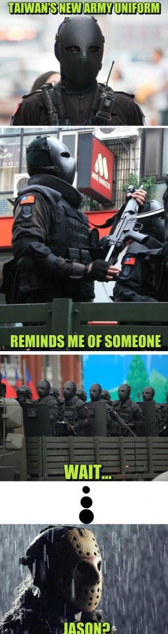funny-lol-meme-2014-taiwans-new-army-uniform