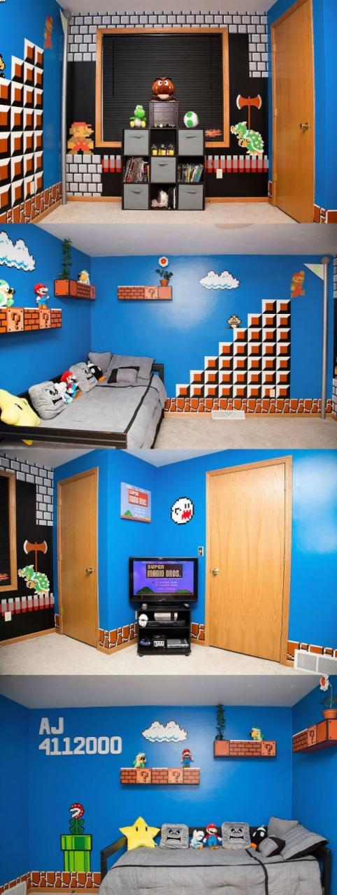 lol-pics-2014-super-mario-themed-room