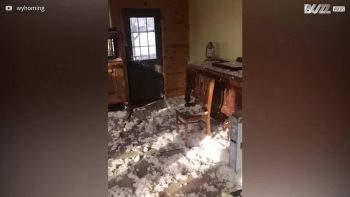 gas explosion wipes out home