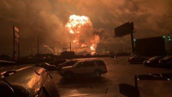Refinery Fire in Philadelphia