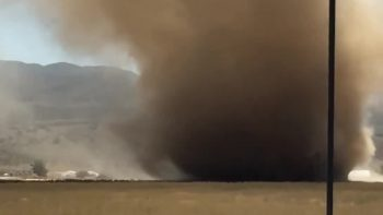 Rare Tornado in California