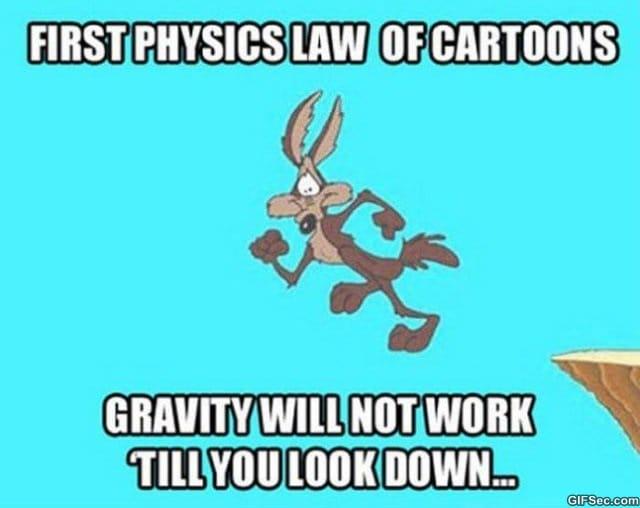 law-of-cartoon-physics