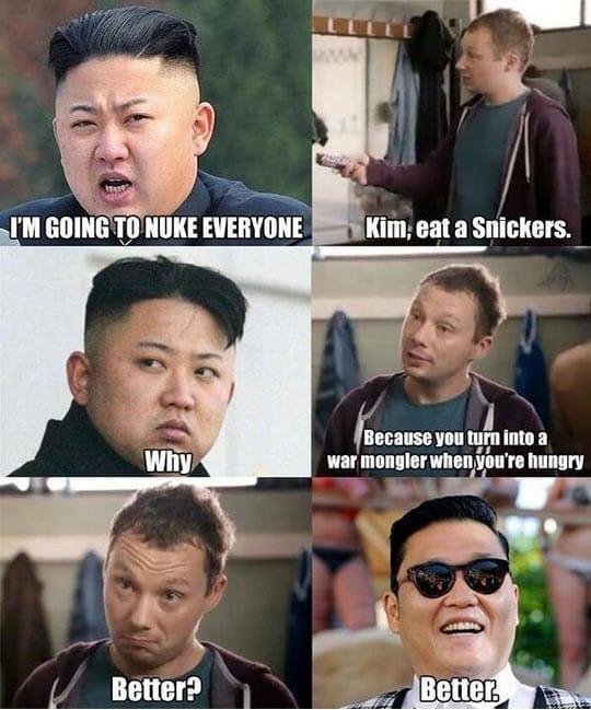 kim-to-psy-funny