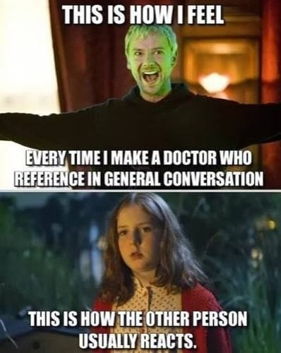 Making Doctor Who references