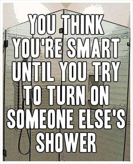 You think you're smart until