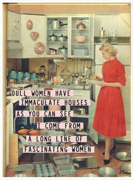 dull-women-have-immaculate-houses