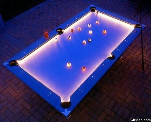 Awesome outdoor pool table meme lol humor funny pictures funny photos funny