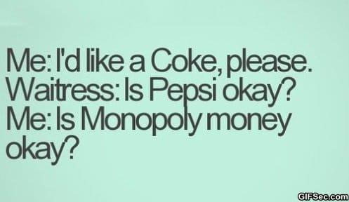 Coke vs. Pepsi meme lol humor funny pictures funny photos funny