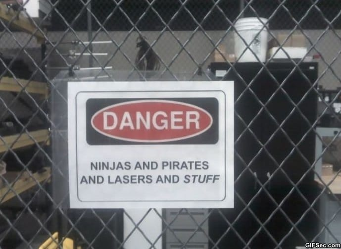 Danger   Lazer and stuff