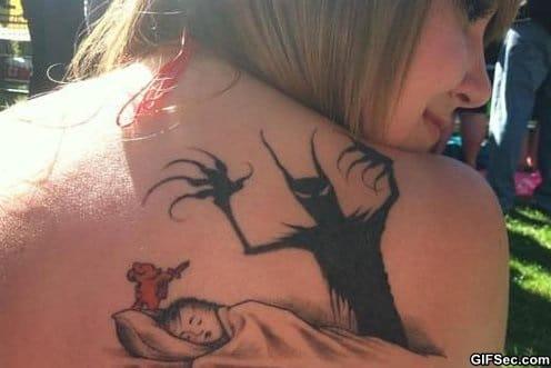 funny-teddy-bear-tattoo