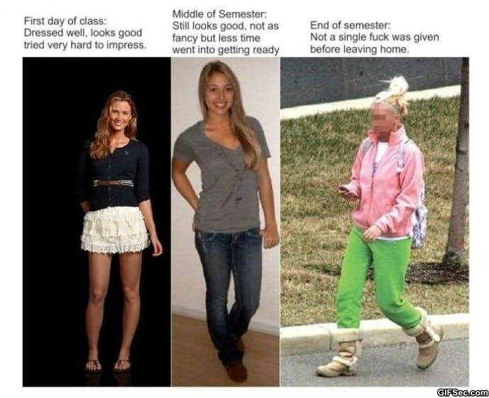 how-girls-dress-throughout-the-semester