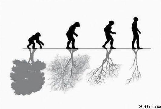 human-evolution-vs-nature
