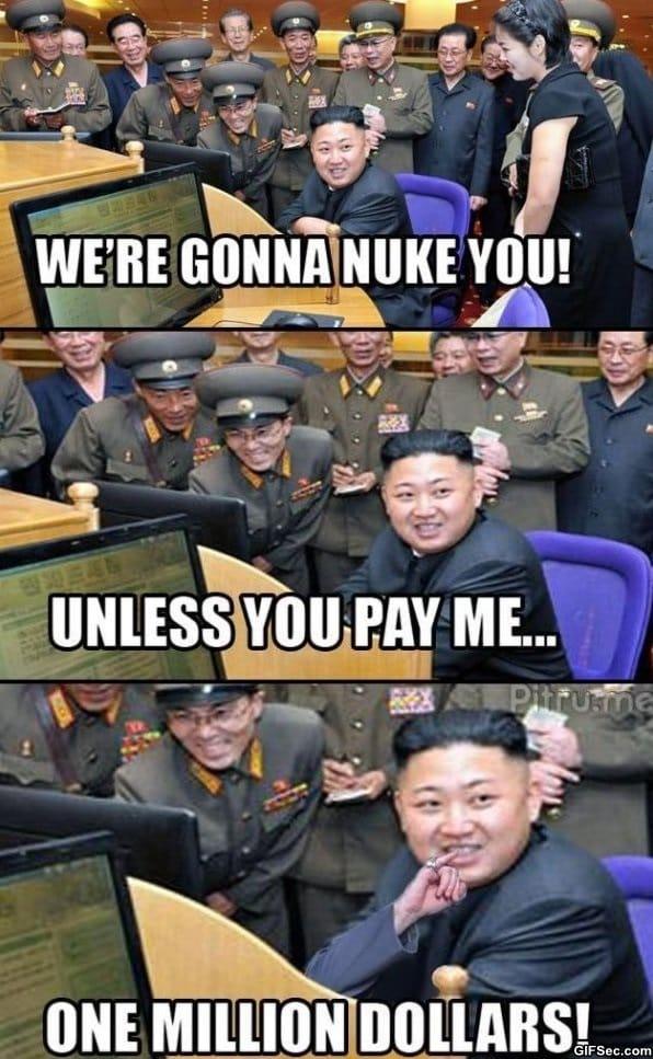 korean-wants-money