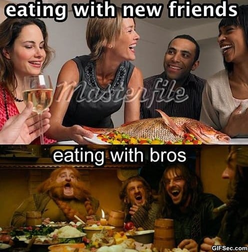 meme-eating-with-friends