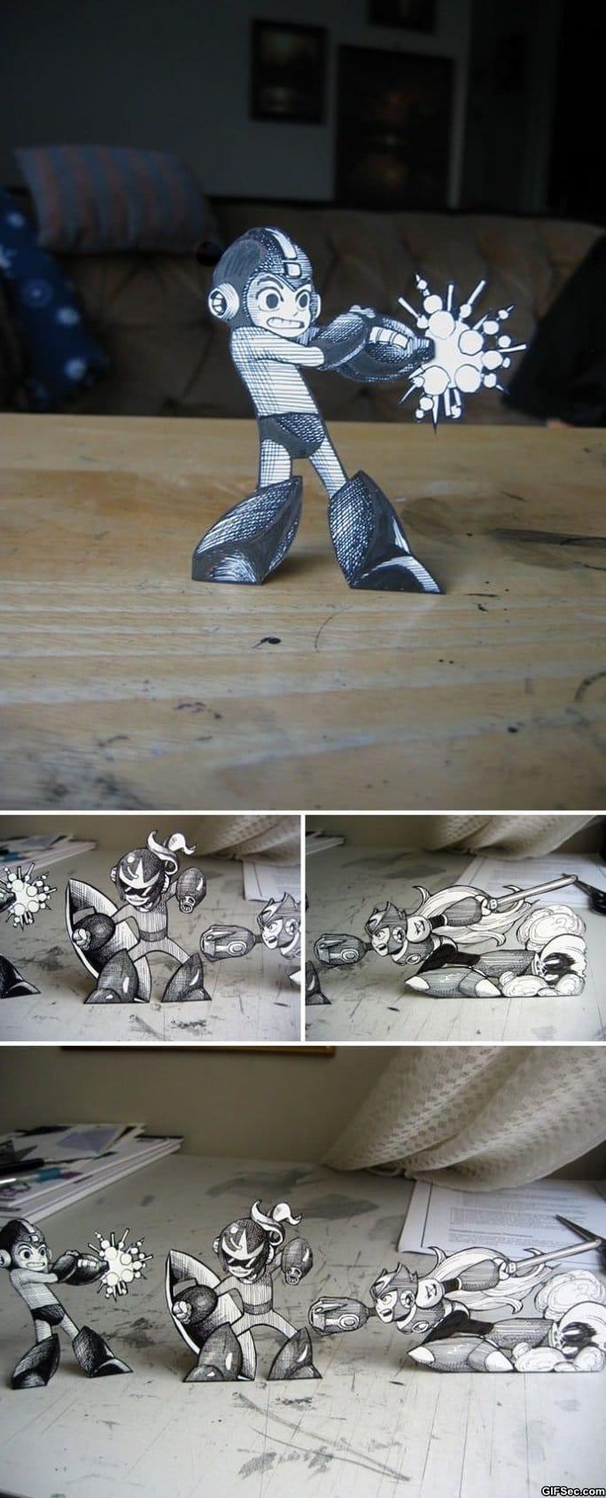 paper-mega-man