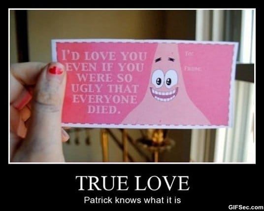 patrick-knows-what-love-is
