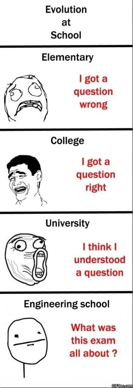 Funny Meme Comics About School : School rage comics memes