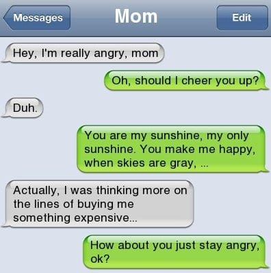 SMS   Awesome MOM