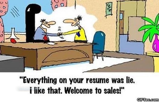hiring sales rep