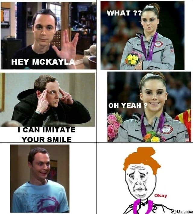 sheldon-cooper-vs-mckayla-maroney