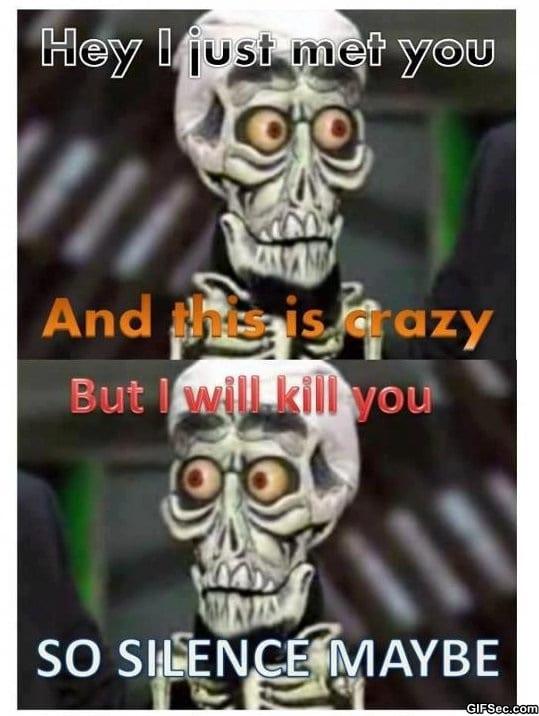 silence-i-kill-you
