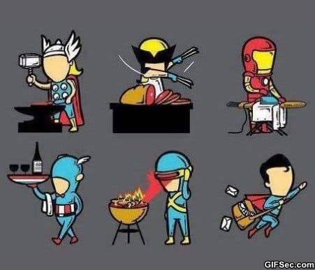 superheroes-summer-job
