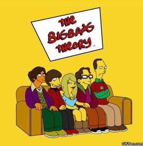 the-big-bang-theory-simpsonized