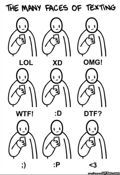 the-many-faces-of-texting
