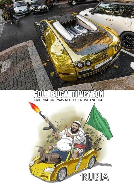 funny-gold-bugatti-veyron-jokes-meme-2014