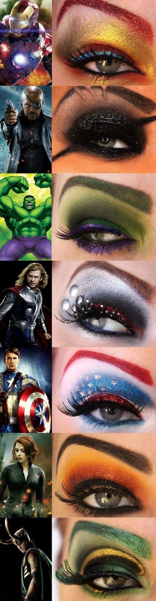 avengers-eye-makeup