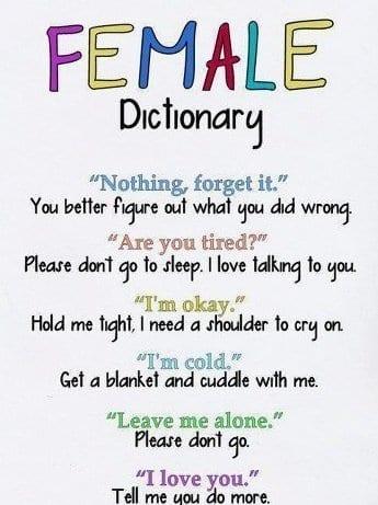 female-dictionary